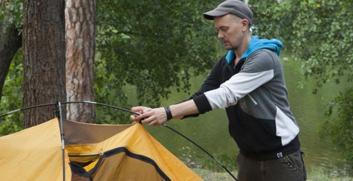ベッドテントでテント設置時間短縮!さらにプライベート空間ゲット?