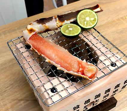 タラバガニ焼き